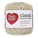 Coats Crochet Classic Crochet Thread, 10, Natural (Color: Natural, Tamaño: 10)