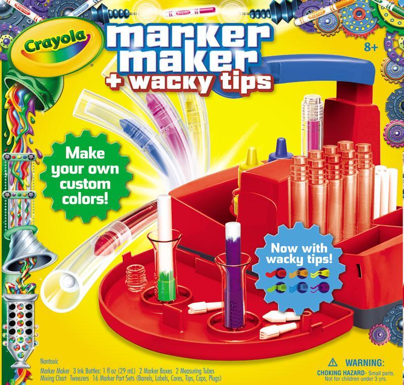 crayola marker maker wacky tips toys games