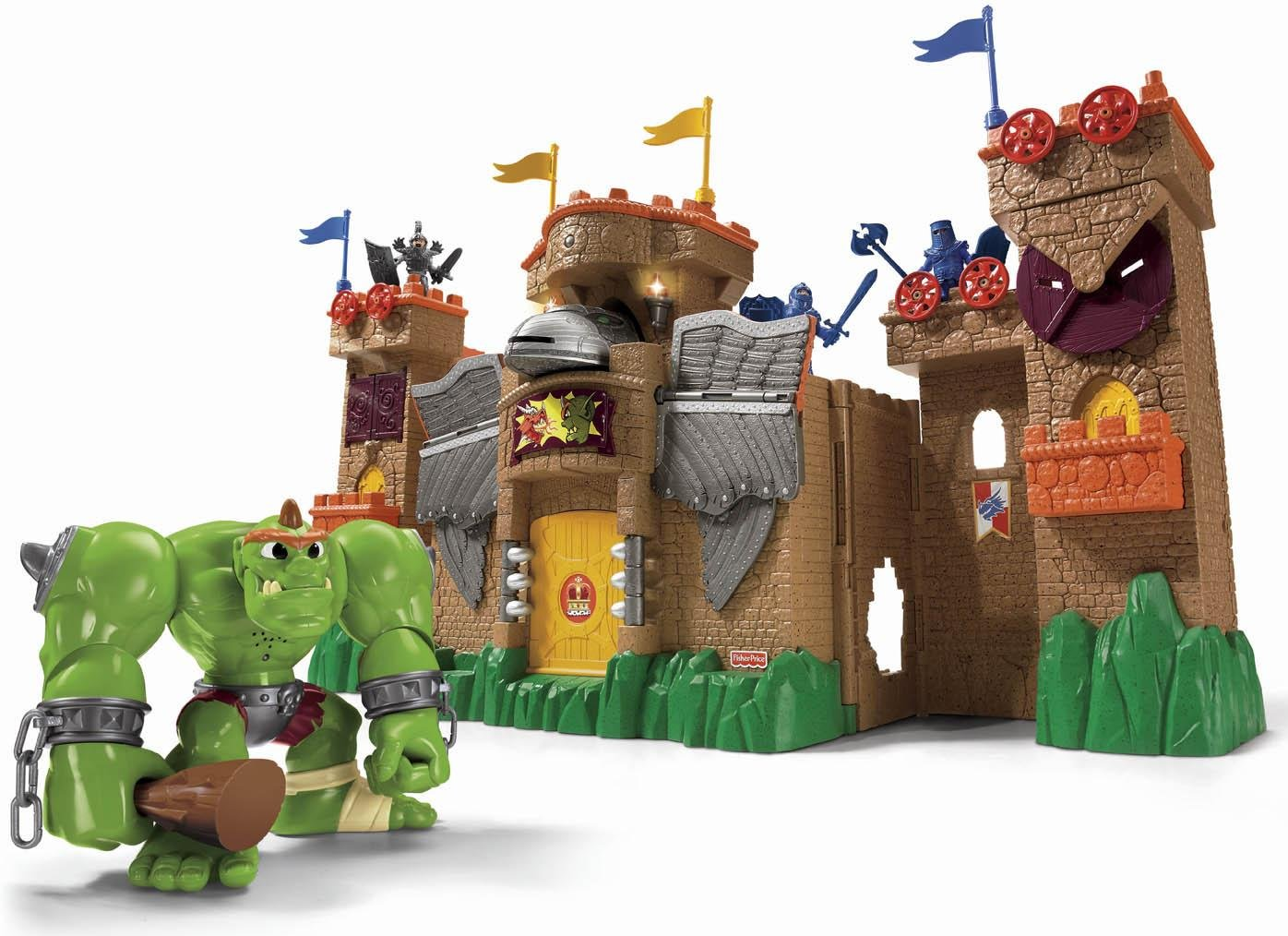 Toy Castles For Toddler Boys : Babies castle toys