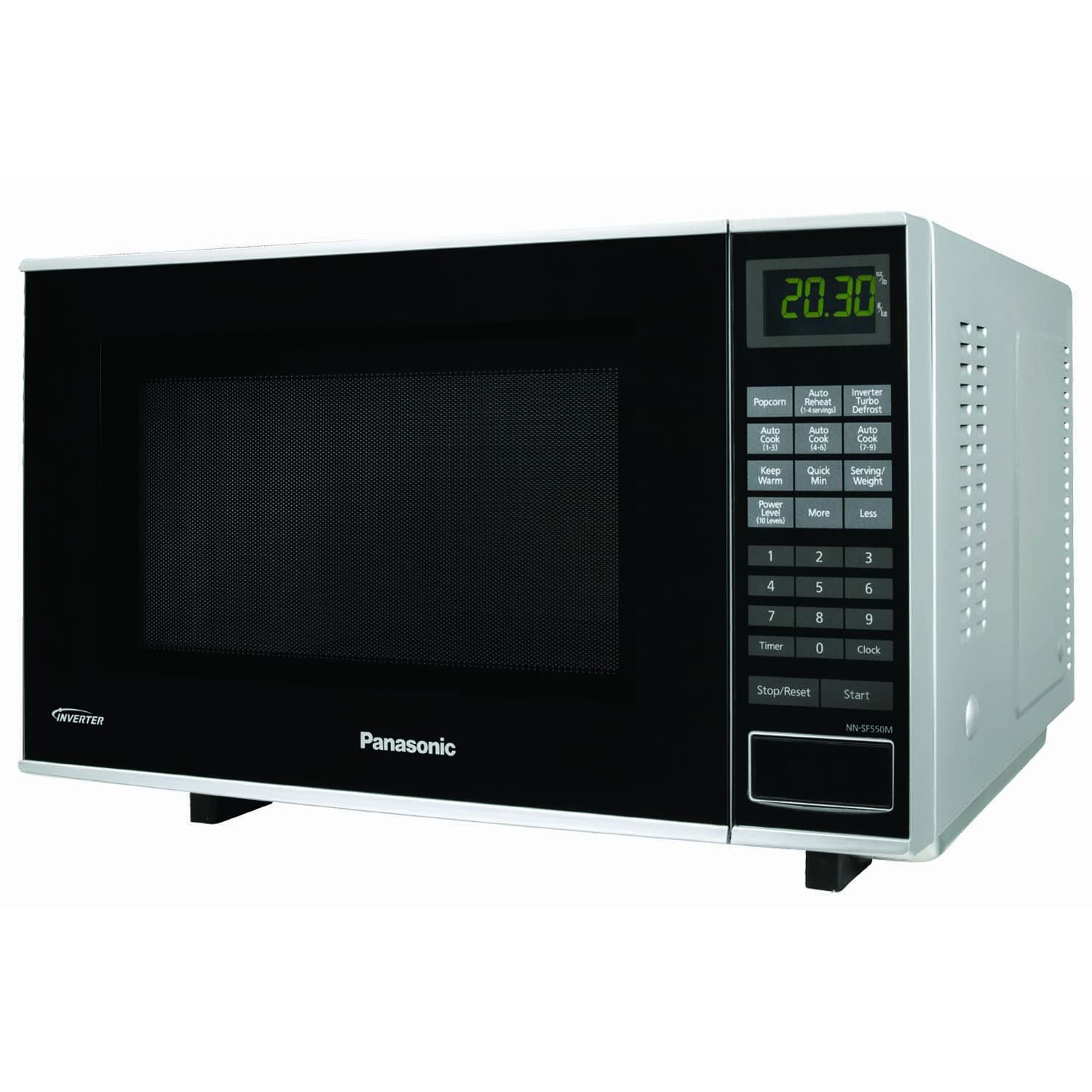 Panasonic NN-SF550M New Flat 1000-Watt 1-Cubic-Foot Microwave Oven