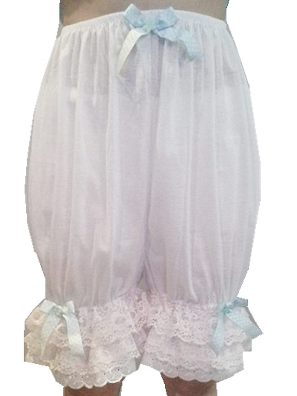 Frauen Handgefertigt Halb Slips UL5CBDWH5 WHITE Half Slips Cotton Women Pettipants Lace günstig