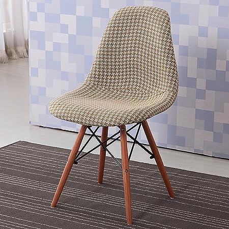 Creative café taburete moderno Simple casa plástico silla de comedor respaldo casual silla y sillas sillas de recepción