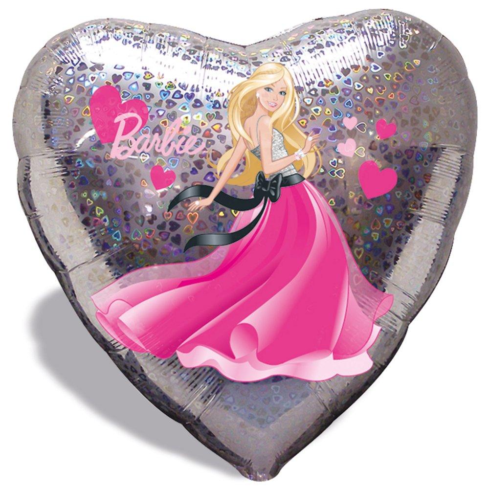 8 x Folienballon Luftballon Heliumballon Barbie Herz – 45 cm jetzt kaufen