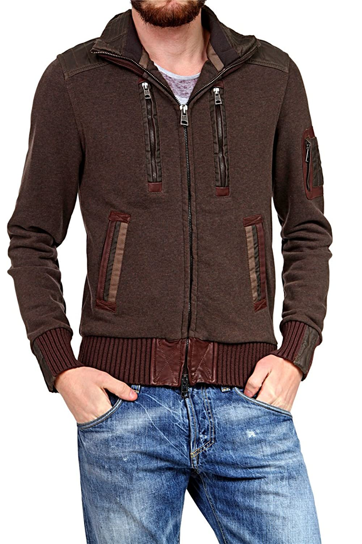 Aeronautica Militare Herren Blouson-Jacke , Farbe: Dunkelbraun günstig online kaufen