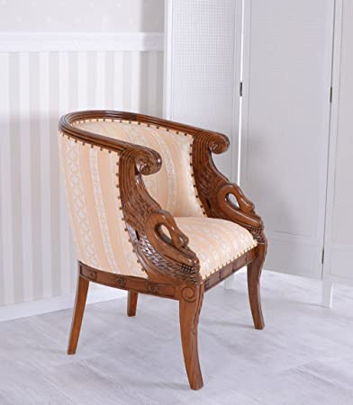 ROYAL ARMCHAIR EMPIRE STYLE MAHOGANY CHAIR Palazzo Exclusive