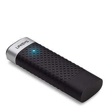 Linksys AE3000-EU - Receptor USB N900 Mbps, doble banda