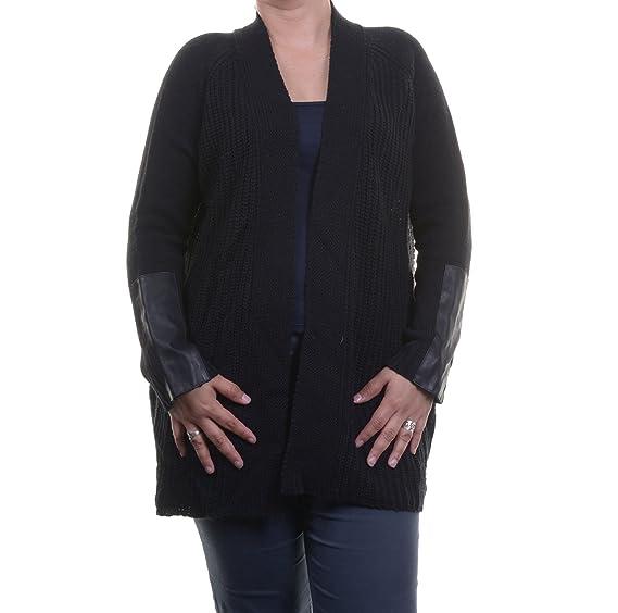 Studio M Womens Wool Open Front Cardigan Sweater