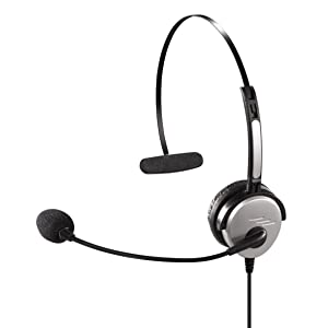Hama 40625 - Auriculares de diadema abiertos (control remoto integrado), negro, plateado  Electrónica Más información y revisión del cliente