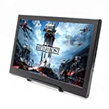 cocopar 13.3 inch Portable monitor 16:9 HDMI/ 1920X1080 PS3/PS4/xbox360/one 1080P LED display game monitor for Raspberry Pi (weight636g,thickness 15mm)