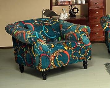 LoveSofas New Modern Bellini Shout 1 Luxury Fabric Sofa