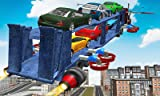Flying Car Transport Truck 3D