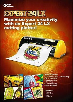 GCC Professional Expert II LX Vinyl Cutter 24 Inch Wide Creative