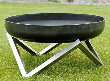 svenskav brasero design design en acier massif taille. Black Bedroom Furniture Sets. Home Design Ideas