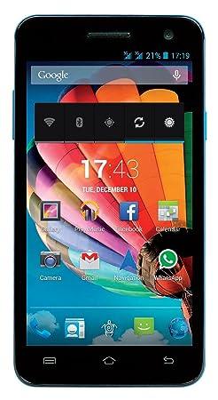 Mediacom PhonePad DUO S551 Smartphone débloqué (5.5 pouces - 8 Go) Bleu (import Espagne)