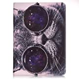 Samsung Galaxy Tab E 9.6 SM-T560 Case,Galaxy T561 Folio Cover,Galaxy Tab E 9.6 Case,Samsung Galaxy Tab E 9.6-Inch Tablet Cover Slim Case for Samsung Galaxy Tab E 9.6 Skin Case-Cool cats (Color: Cool cats)