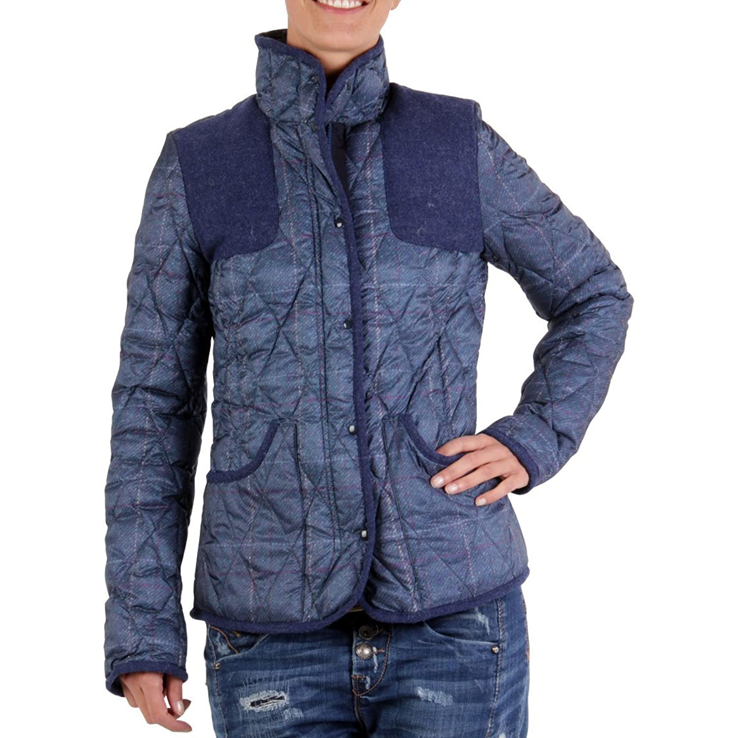BPD by Blauer USA Damen Daunenjacke Blue BPD0030