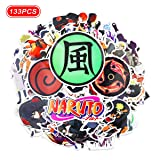 133 Pcs Naruto Stickers Anime Stickers (Anime 5)