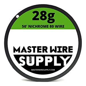 Mixed 550 Feet of Nichrome 80 Wire 22,24,26,28,30,32,34,36 Gauge Pack