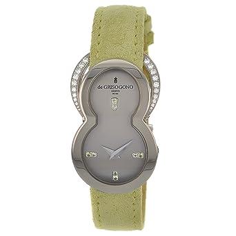 De Grisogono Be Eight S51 Factory Diamond 18K White Gold Quartz Women's Watch