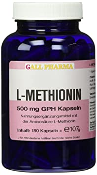 Gall Pharma L-Methionin 500 mg GPH Kapseln 180 Stuck