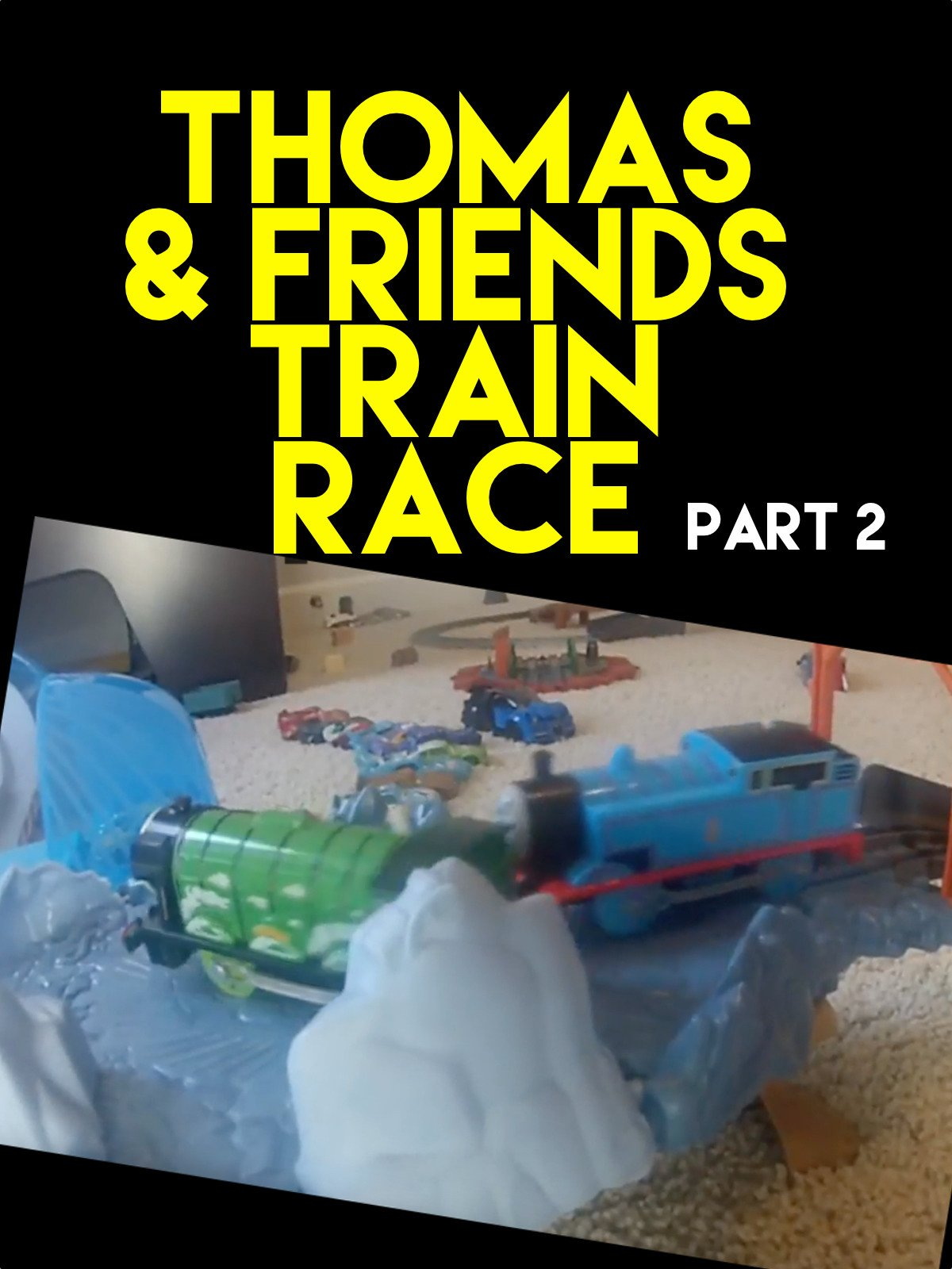 Clip: Thomas and Friends Train Race part 2