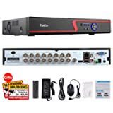Faittoo H.264 16CH 1080N AHD DVR Hybrid AHD+HVR+TVI+CVI+NVR 5-in-1 Security System Realtime Standalone CCTV Surveillance Onvif P2P Quick QR Code Scan w/Easy Remote View HDMI/VGA Output (No HDD) (Color: 16 channel 5-in-1 DVR, Tamaño: 16 channel 5-in-1 DVR)
