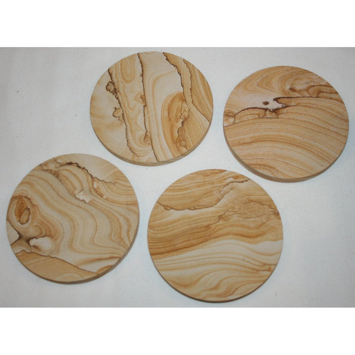 Thirstystone Drink Coasters Tan New Free Shipping
