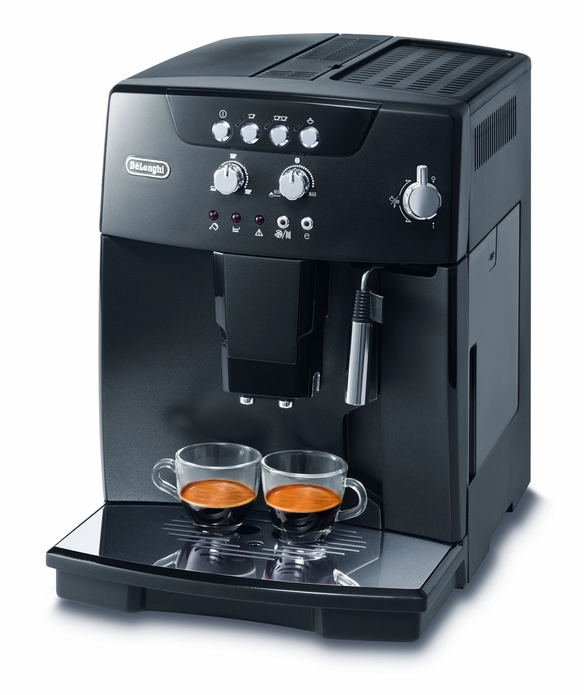 DeLonghi ECAM 04.110 B KaffeeVollautomat Magnifica III (1.8 l, 15 bar, Dampfdüse) schwarzÜberprüfung und weitere Informationen