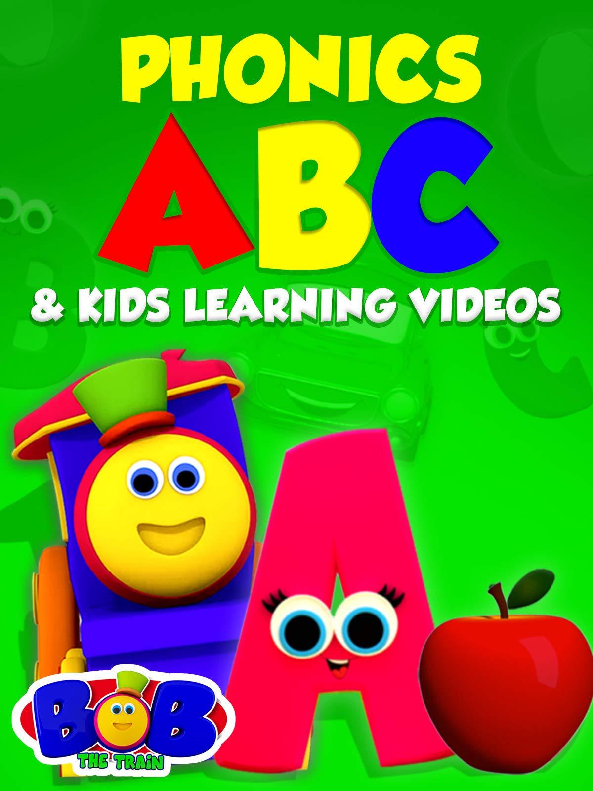 Phonics, ABC & Kids Learning Videos - Bob The Train