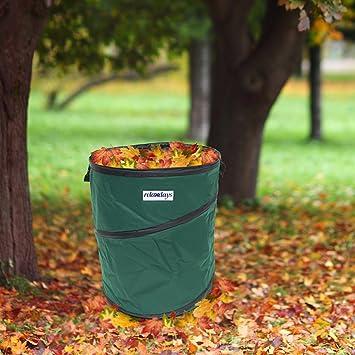 Set de 3 3 sacs de jardin feuilles mortes pop up up for Sac pour feuilles mortes