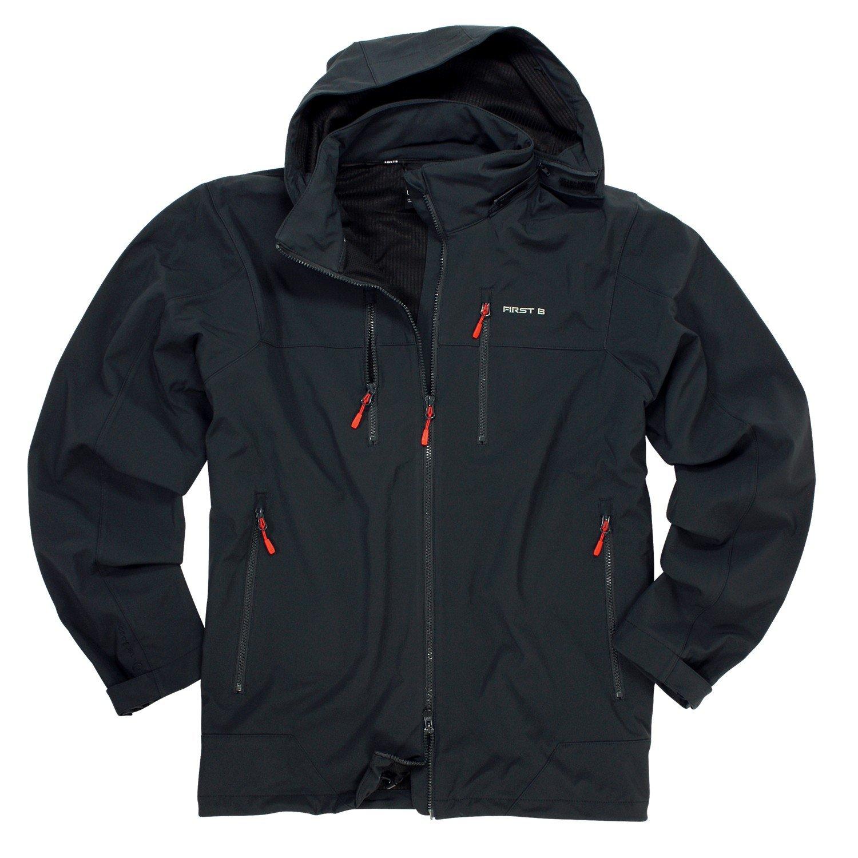 Softshell-Jacke in mitternachtsblau Unisex in Bis 8XL online bestellen