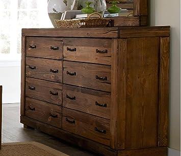 Dresser in Driftwood Finish