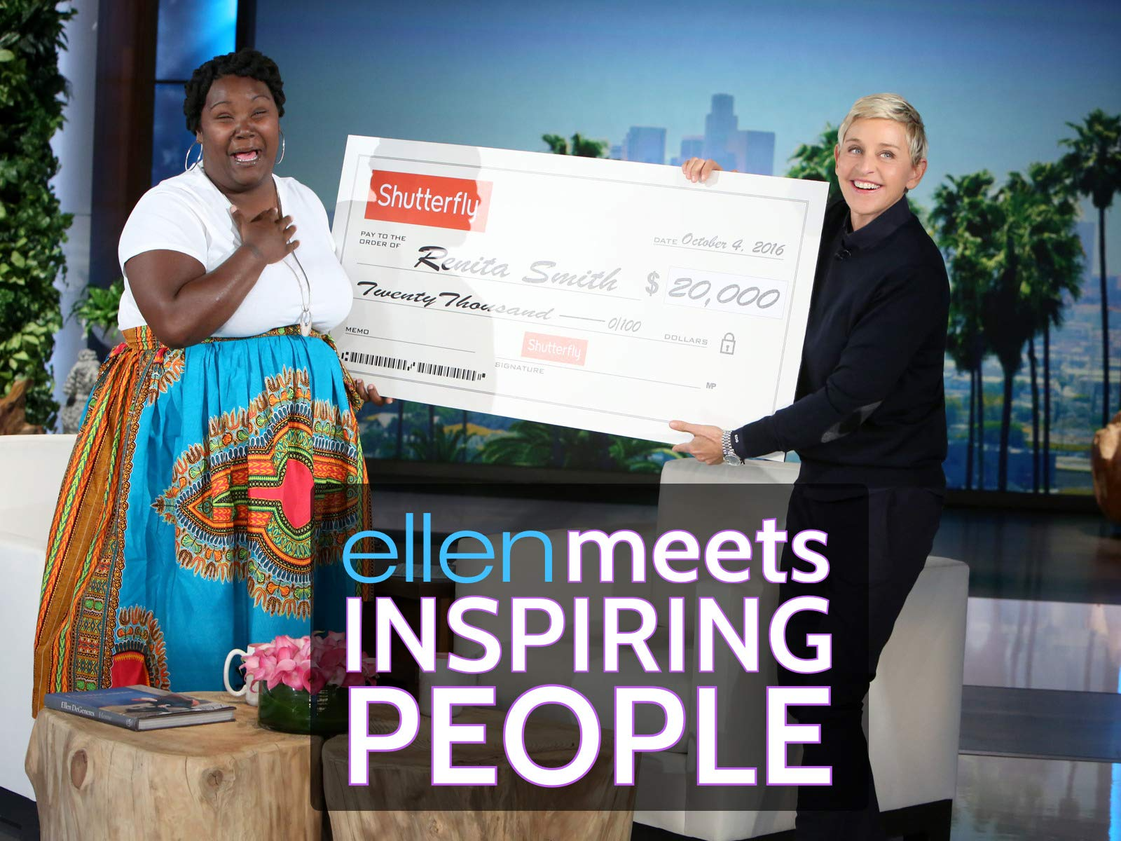 Ellen Meets Inspiring People - Season 1