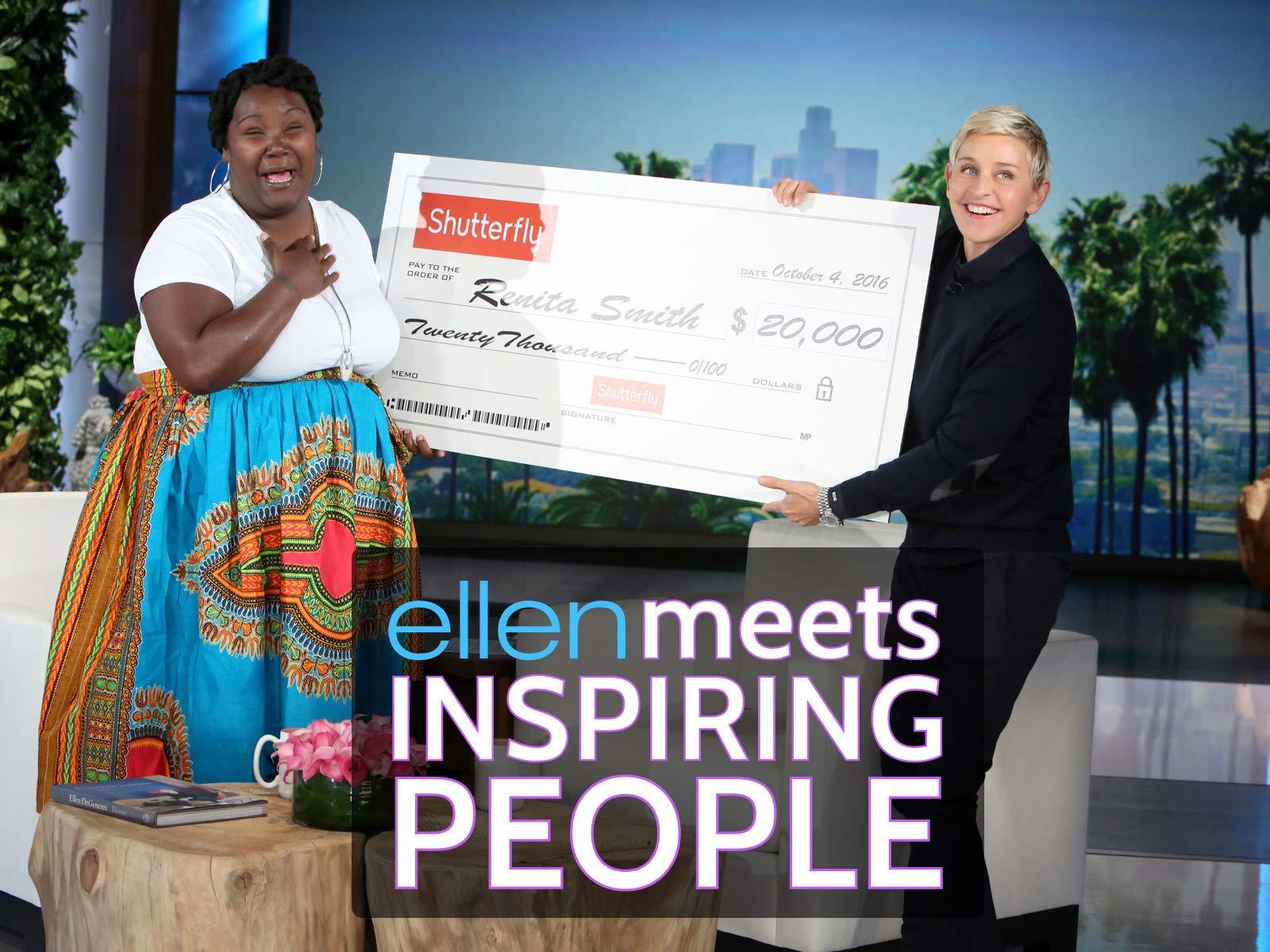 Ellen Meets Inspiring People