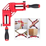 Right Angle Clamps,SEDY 90 Degree Quick-Jaw Corner Clamp for Welding, Wood-working, Photo Framing -The Christmas Red. (Color: Red)