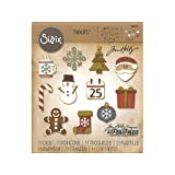 Sizzix THoltz Thinlits Die Mini Christmas Things THThinlitDieMiniChristmasThing
