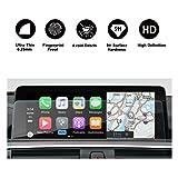 RUIYA BMW 2/3/4 Series F22 F45 F30 F31 F34 F32 F33 F36 GPS Navigation Screen Display Protector Clear Trapezoid Tempered Glass 8.8 Inches