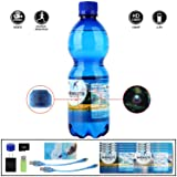 Spy Camera Water Bottle Hidden Camera - 32GB 1080p Video-Taking for 2.5 hours Mini DV Surveillance Camcorder With Motion Detection Function (Color: Blue)