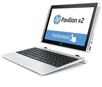 """HP Pavilion x2 10-n000nf PC portable hybride Tactile 10"""" Blanc (Intel Atom, 2 Go de RAM, 32 Go de SSD)"""