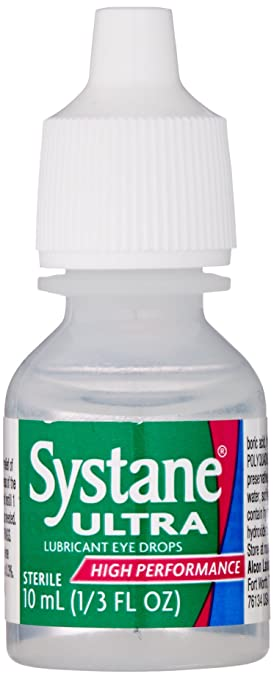 Alcon Systane Ultra 10 milliter Bottles 3 Pack