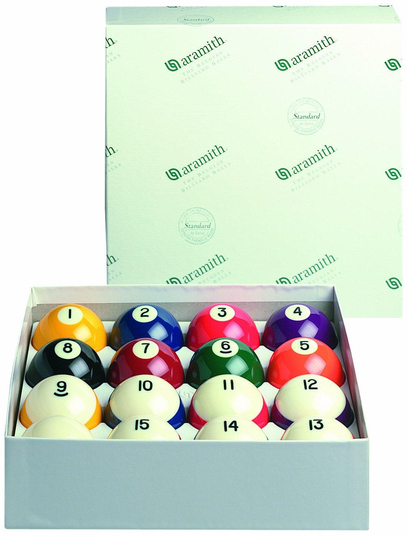Aramith 2 1/4-Inch Crown Style Standard Balls