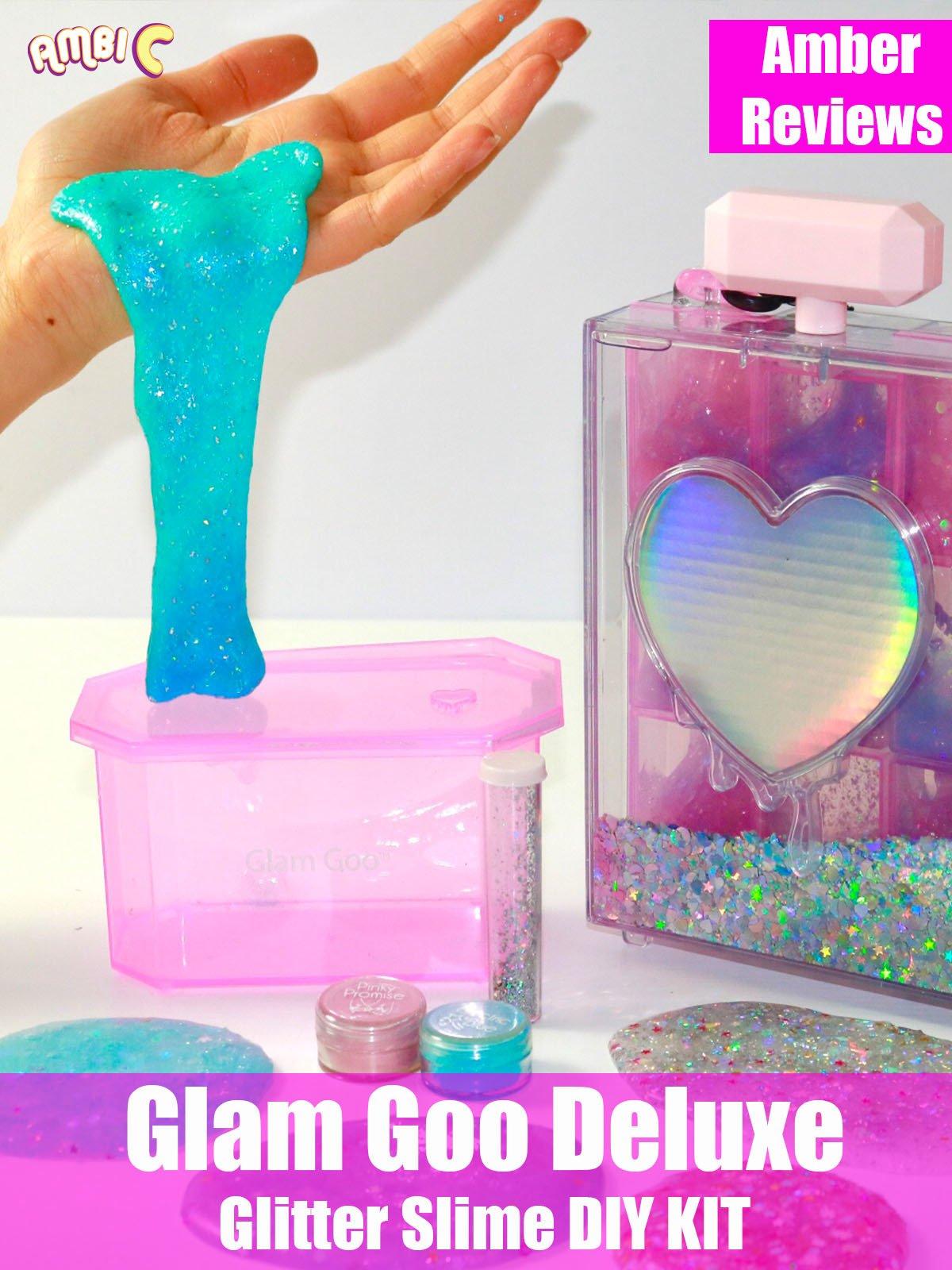 Amber Reviews Glam Goo Deluxe Glitter Slime DIY Kit