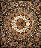 Sunshine Joy® Indian Dark Star Elephants Tapestry