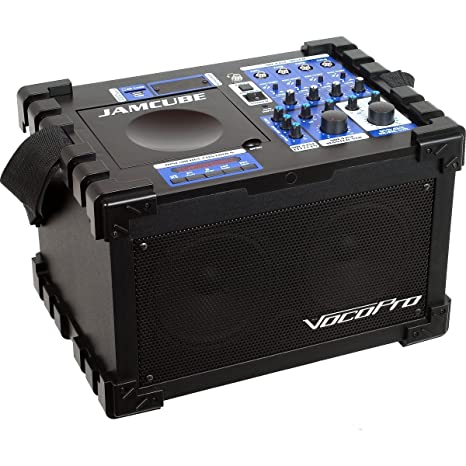 VocoPro JAMCUBE-BT | 100W Stereo All In One Mini PA Entertainment System with Bluetooth Receiver