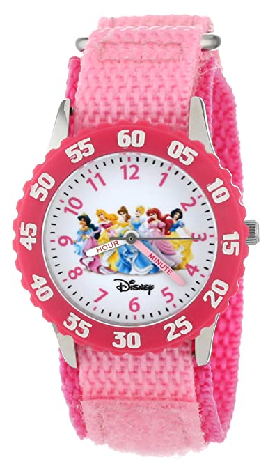 Disney Girls' W000042 Time Teacher Princess Watch