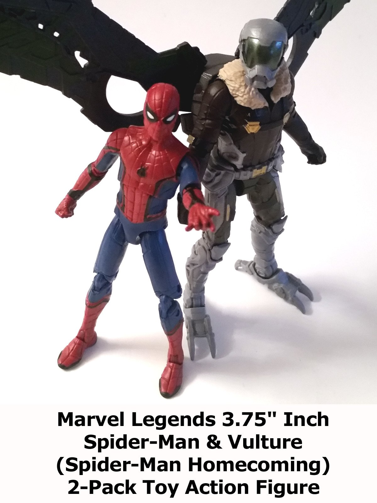 "Review: Marvel Legends 3.75"" Inch Spider-Man & Vulture (Spider-Man Homecoming) 2-Pack Toy Action Figure on Amazon Prime Video UK"