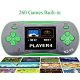 QINGSHE Hand Held Games for Kids , Handheld Game Console 2.5