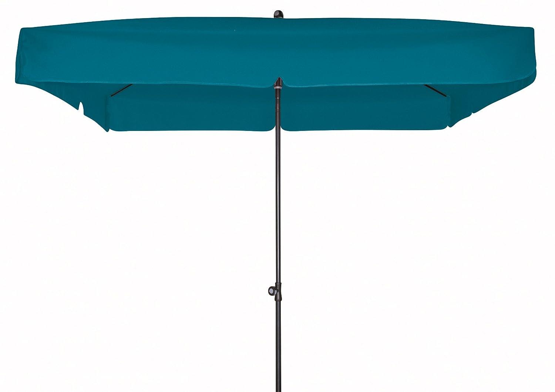 Doppler Gartenschirm Sun Line III 200×200 quadratisch mit UV-Schutz 50, Farbe petrol günstig bestellen