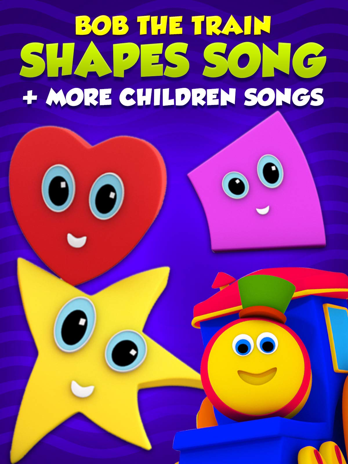 Shapes Song + More Children Songs - Bob The Train