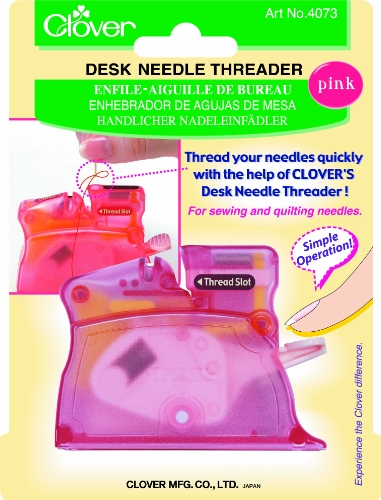 Best Prices! Clover Desk Needle Threader, Pink
